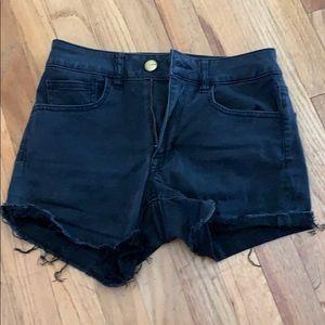Black American Eagle shorts